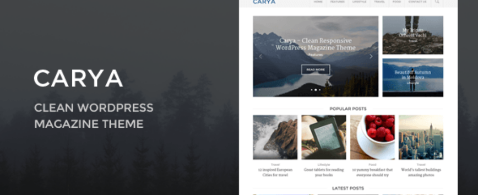 carya - Themeforest
