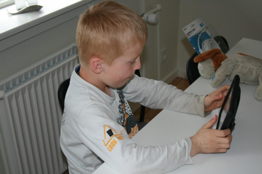 Mikkel min søn (7 år)