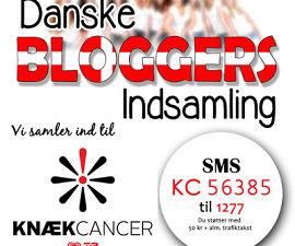 danske bloggers knækcancer indsamling 2015