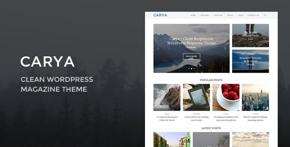 carya - Themeforest
