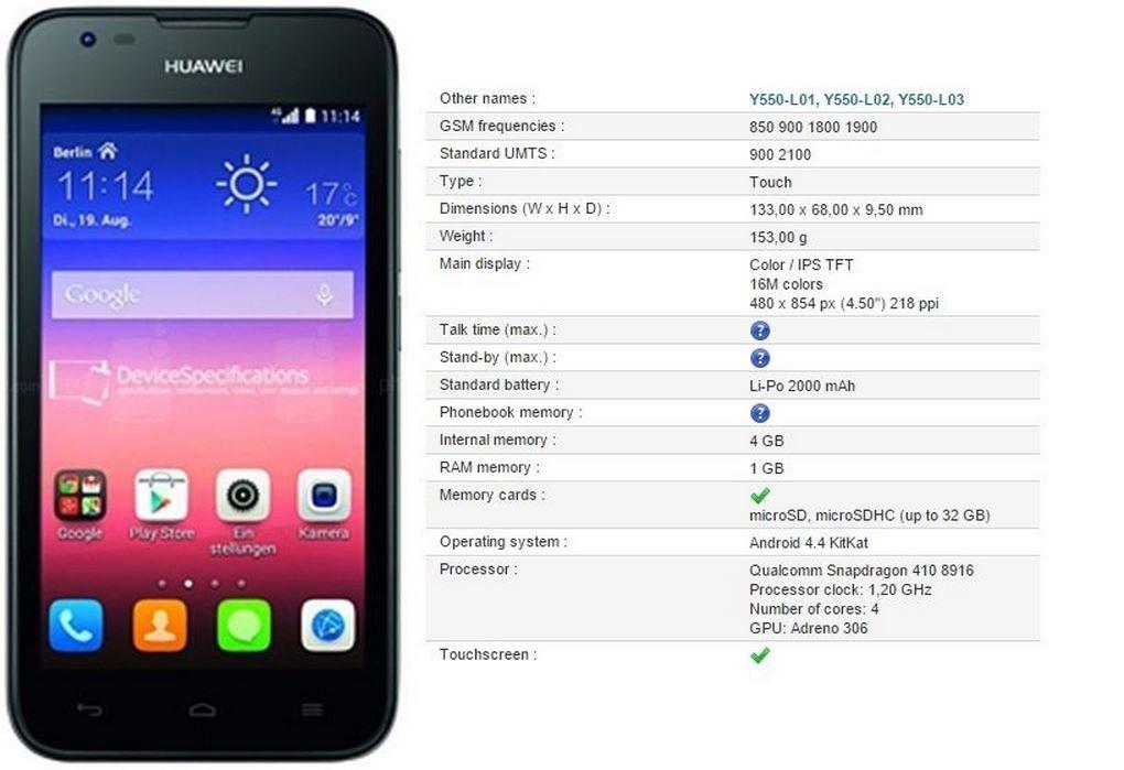 Huawei_Y550