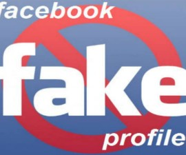 Fake facebook profil