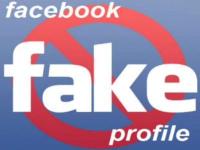 Fake facebook profil
