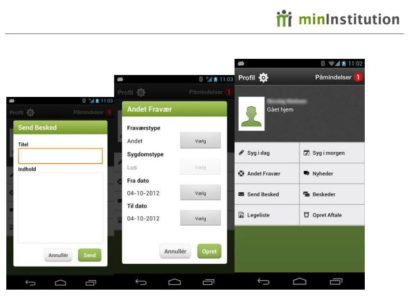 Mininstitution på Android 5 ( Lollipop )