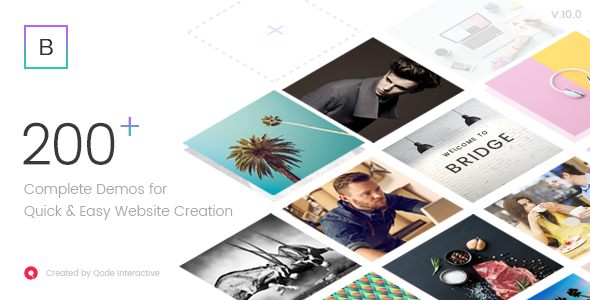 Brigde themforest WordPress theme