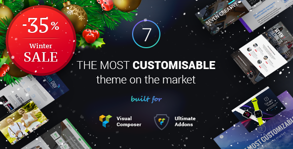 the7 themforest WordPress theme